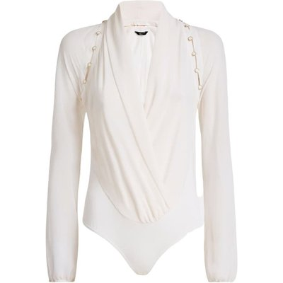 Marciano Daria Button Up Bodysuit Guess | GUESS SALE