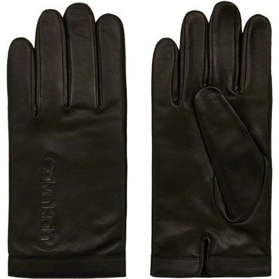 Calvin Klein K50K505045 Deboss Logo Gloves Men Black Calvin Klein | CALVIN KLEIN SALE