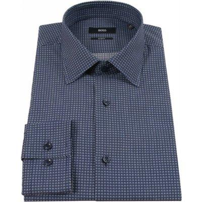 Hugo Boss, Shirt Blau, Größe: 43 | HUGO BOSS SALE