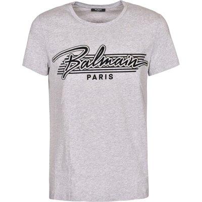 Balmain, T-shirt Grau, Größe: XL   BALMAIN SALE