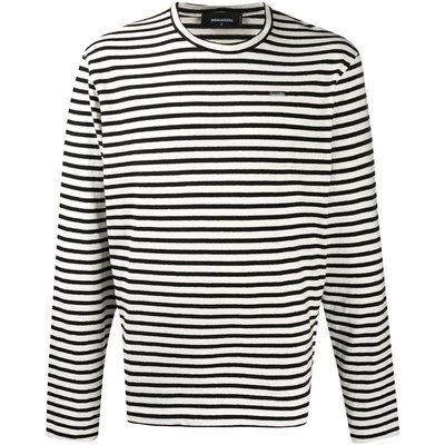 Stripes TEE Dsquared2   DSQUARED2 SALE