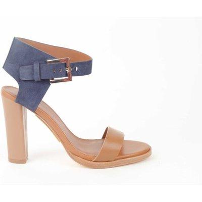 Hugo Boss, Sandaaltje met hoge hak Blau, Größe: 39 | HUGO BOSS SALE
