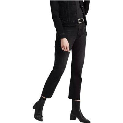 Levi's, 501 Crop Jeans Schwarz, Größe: W32 L26   LEVI'S SALE