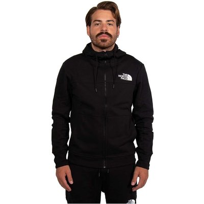 The North Face, Felpa Mnlyn Full Zip Schwarz, Größe: 2XL | THE NORTH FACE SALE