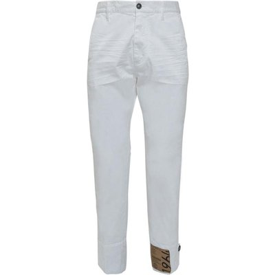 Dsquared2, Maxi Lenght Trousers Weiß, Größe: 52 IT | DSQUARED2 SALE