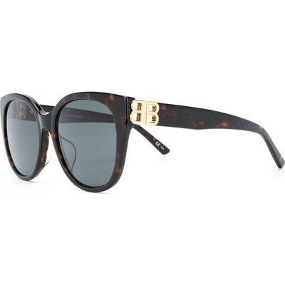 Balenciaga, Sunglasses Bb0103Sa 002 Braun, Größe: 57 | BALENCIAGA SALE