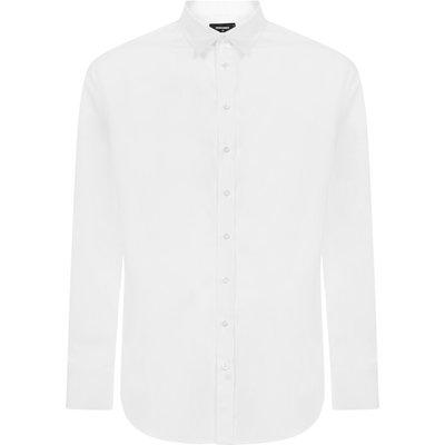 Dsquared2, Hemd Weiß, Größe: 54 IT   DSQUARED2 SALE