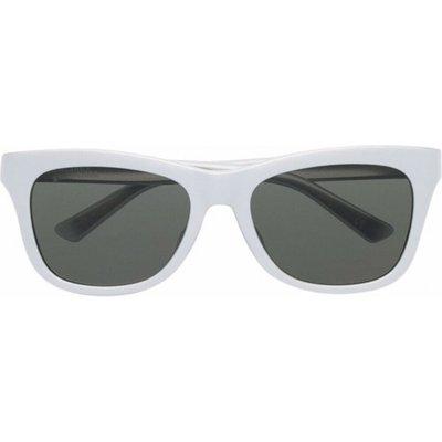Balenciaga, Sunglasses Bb0151S 003 Weiß, Größe: 55 | BALENCIAGA SALE