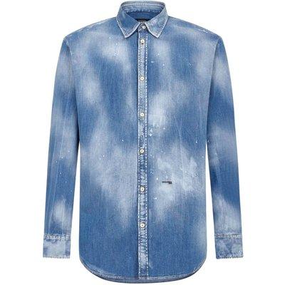 Dsquared2, Hemd Blau, Größe: 54 IT | DSQUARED2 SALE