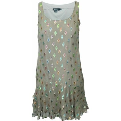 Dress with Metallic Embellishments Dkny Vintage | DKNY SALE