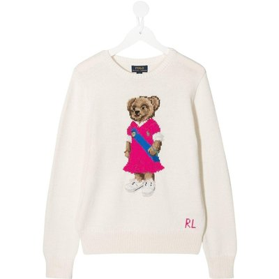 Polo Ralph Lauren, Teddy Sweater in Jersey Beige, Größe: 16y | RALPH LAUREN SALE