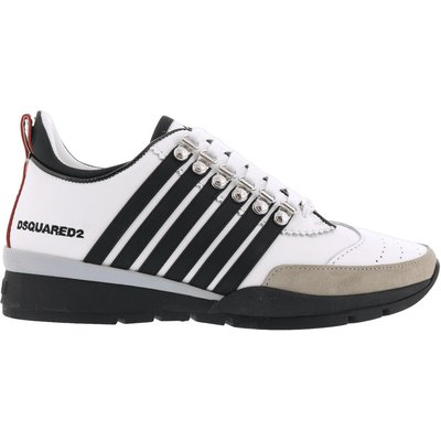 Dsquared2, Lace-Up Low Top Sneakers Weiß, Größe: 46 | DSQUARED2 SALE