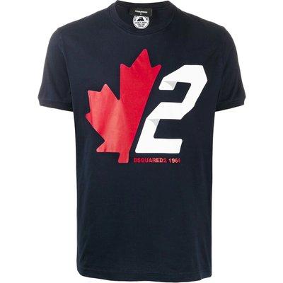 Dsquared2, T-shirt Blau, Größe: XL   DSQUARED2 SALE