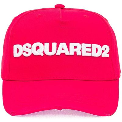 Dsquared2, Baseball Cap Rot, Größe: One size | DSQUARED2 SALE