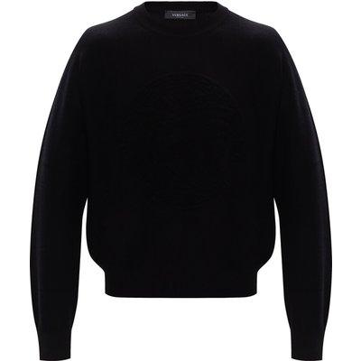 Versace, Wool sweater Schwarz, Größe: 52 IT | VERSACE SALE
