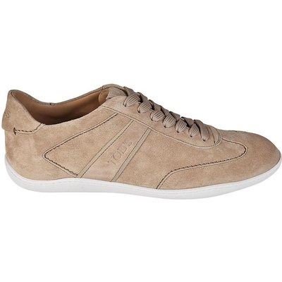 Tod's, Active 08A suede sneakers Beige, Größe: UK 5.5 | TOD'S SALE