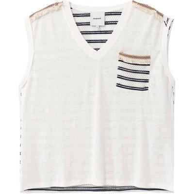 Desigual, T-Shirt Weiß, Größe: M | DESIGUAL SALE