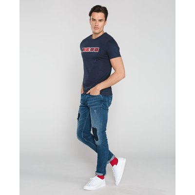 Hugo Boss, Hugo Boss T-Shirt - Blau, XL Grau, Größe: XL   HUGO BOSS SALE