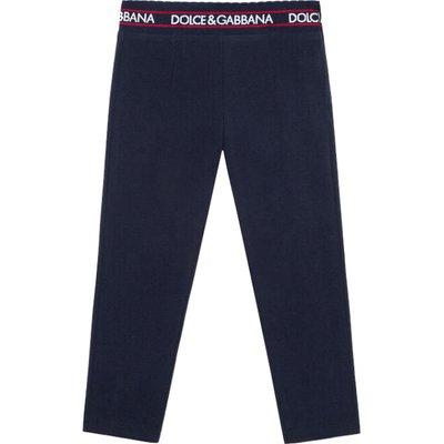 Dolce & Gabbana, Leggings Blau, Größe: 8y | DOLCE & GABBANA SALE