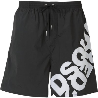 Logo Print Swim Shorts Dsquared2 | DSQUARED2 SALE