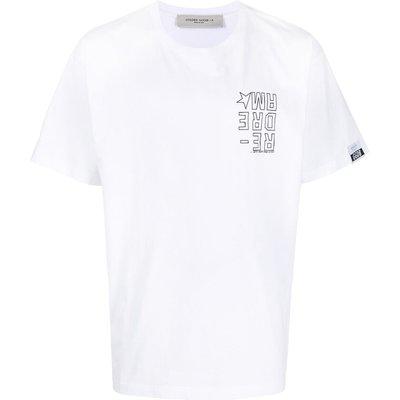 Golden Goose, T-Shirt Weiß, Größe: XS   GOLDEN GOOSE SALE