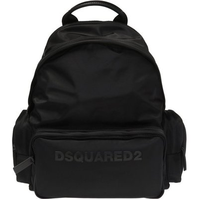 Dsquared2, Rucksack mit Logo Schwarz, Größe: One size | DSQUARED2 SALE