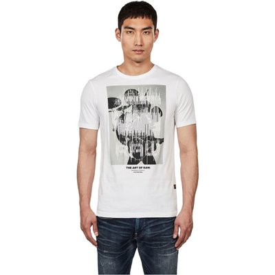 G-Star D15632 336 Graphic 1 T Shirt AND Tank Men White G-star   G-STAR SALE