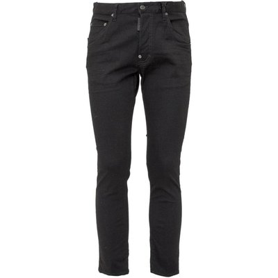 Dsquared2, Jeans With Logo Patch Schwarz, Größe: 52 IT | DSQUARED2 SALE