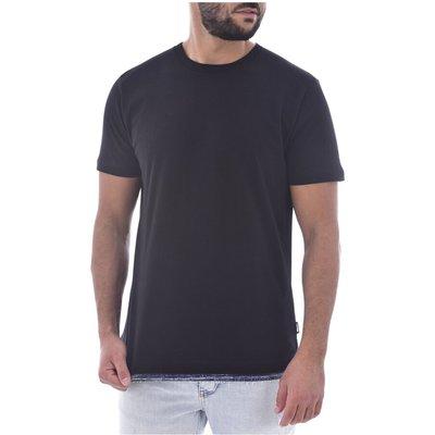 Diesel, Tee shirt finition denim Schwarz, Größe: S | DIESEL SALE