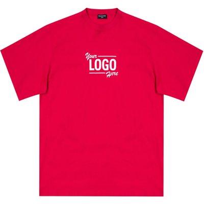 Balenciaga, Logo T-Shirt Rot, Größe: XS | BALENCIAGA SALE