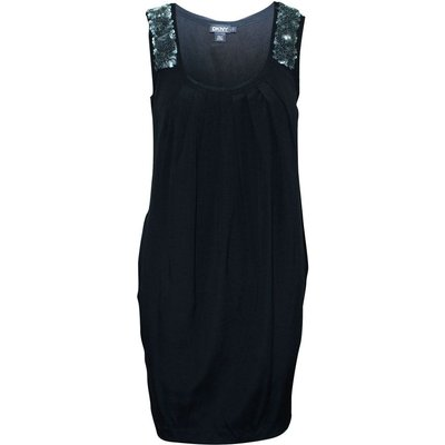 Dress with Sequins on Shoulder Straps Dkny Vintage | DKNY SALE
