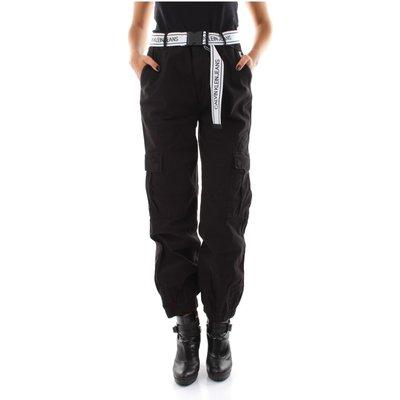J20J214182 Belted Cargo Pants Calvin Klein Jeans   CALVIN KLEIN SALE
