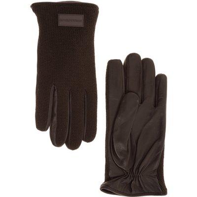 Emporio Armani, gloves Braun, Größe: M | EMPORIO ARMANI SALE