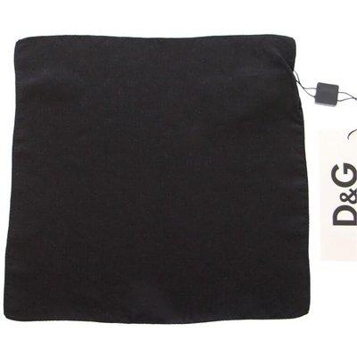 Dolce & Gabbana, Silk Handkerchief Schwarz, Größe: One size   DOLCE & GABBANA SALE