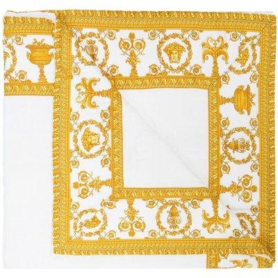 Versace, Bath towel Weiß, unisex, Größe: One size | VERSACE SALE