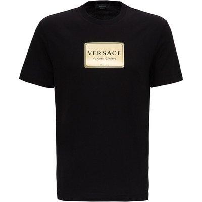 Versace, T-Shirt Schwarz, Größe: M | VERSACE SALE