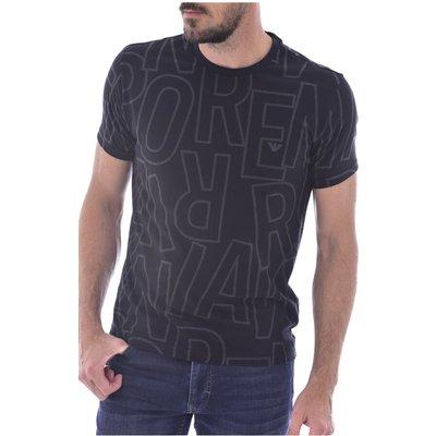 Emporio Armani, Tee shirt à print logos Schwarz, Größe: XL | EMPORIO ARMANI SALE