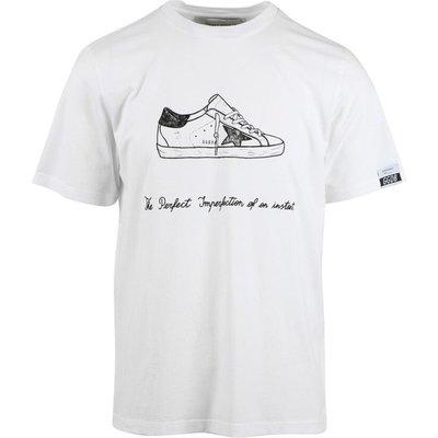 Golden Goose, Kurzärmeliges T-shirt Weiß, Größe: XS   GOLDEN GOOSE SALE