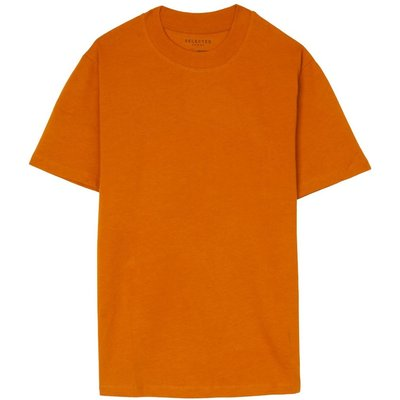 Relax Tee Pumpkin Selected Homme | SELECTED SALE