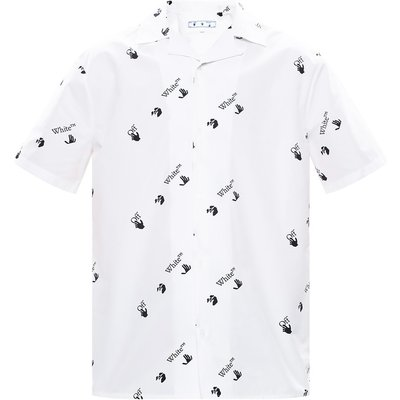OFF-WHITE Shirt with logo Off White | OFF-WHITE SALE
