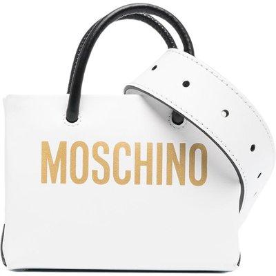 Moschino, Shopper BAG Weiß, Größe: One size   MOSCHINO SALE