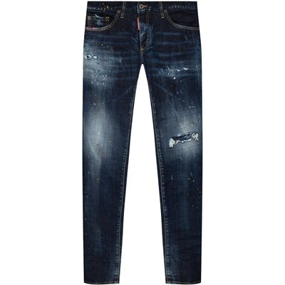 Anniversary Super Low Jeans distressed Dsquared2 | DSQUARED2 SALE