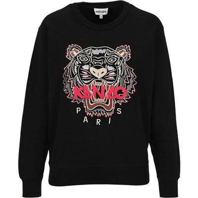 Kenzo, Sweatshirt Tiger Schwarz, Größe: S   KENZO SALE