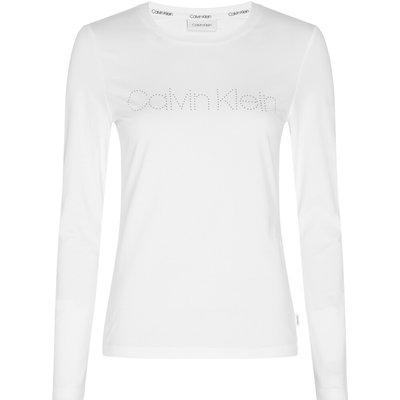 Ls Stud Logo T-Shirt Calvin Klein   CALVIN KLEIN SALE