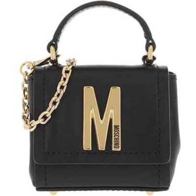Mini leather shoulder bag A7732 8008-0555 Moschino | MOSCHINO SALE