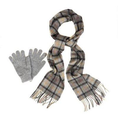 Schal- UND Handschuh-Geschenk-Set Barbour | BARBOUR SALE