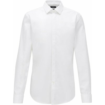 Hugo Boss, Shirt Weiß, Größe: 41 | HUGO BOSS SALE