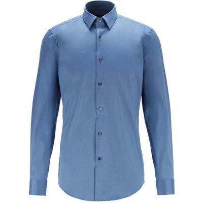 Hugo Boss, Shirt Blau, Größe: 42 IT | HUGO BOSS SALE