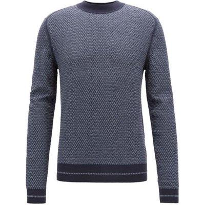Hugo Boss, Kanadrin Knitwear Blau, Größe: 2XL | HUGO BOSS SALE