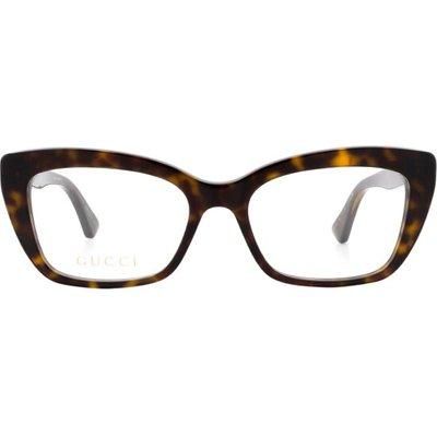 Gucci, Gg0165O 002 Gläser Braun, Größe: 51   GUCCI SALE